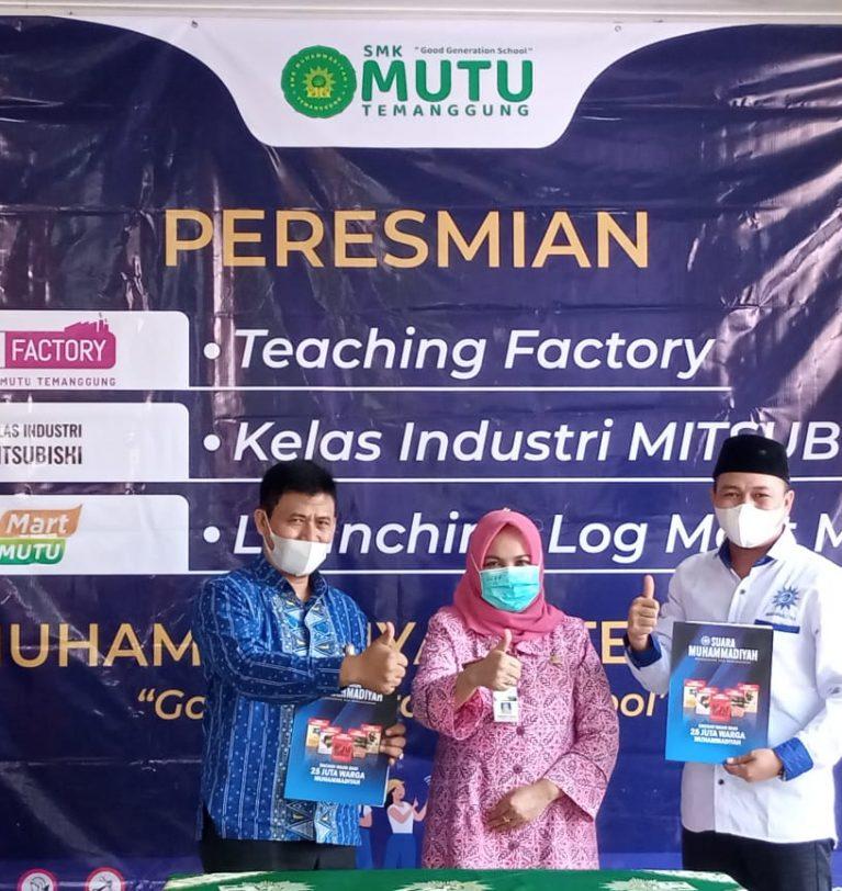 Logmart Mutu, Terobosan Pengembangan Bisnis SMK Muhammadiyah 1 Temanggung