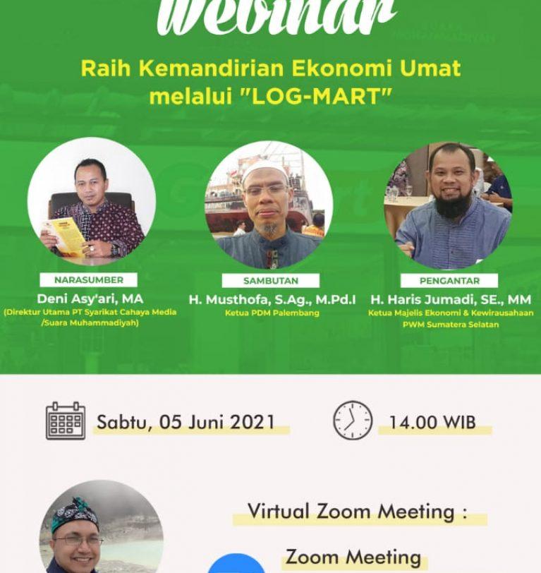 Muhammadiyah Palembang: Setiap PCM Mendirikan Satu Logmart