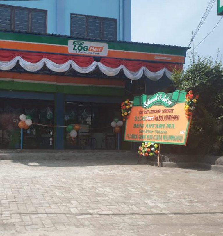 Logmart Pertama di Jawa Timur, Serentak Diresmikan 5 Outlet